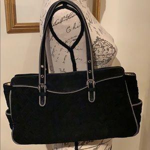Vera Bradley Quilted Cloth Shoulder Bag
